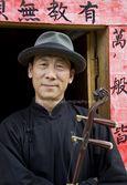 Mr. Ben Zhao - Chinese Musician - Barkerville - ©Bruce Kemp 2012 - DSC_9279